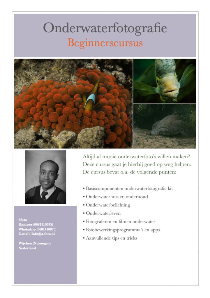 Cover Sfoto_Onderwaterfotografie